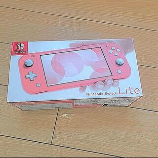 Nintendo Switch - 任天堂 Nintendo スイッチライト コーラル美品