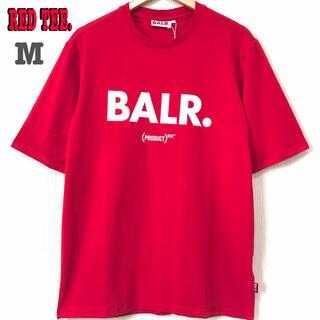 シュプリーム(Supreme)の本物 新品 M ♪ BALR RED Tシャツ ボーラー 赤 ユニセックス(Tシャツ/カットソー(半袖/袖なし))