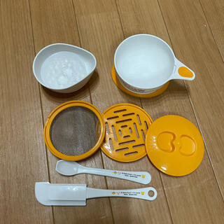 ディズニー(Disney)のプーさん 離乳食 調理セット(離乳食調理器具)