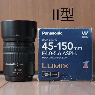 Panasonic - LUMIX G VARIO 45-150mm F4.0-5.6 ASPH.
