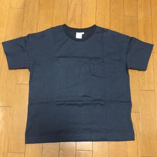 ザノースフェイス(THE NORTH FACE)のノースフェイス  Tシャツ ネイビー(Tシャツ(半袖/袖なし))