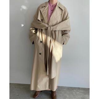 Ameri VINTAGE - 【CLANE】SIDE RIBBON TRENCH COAT