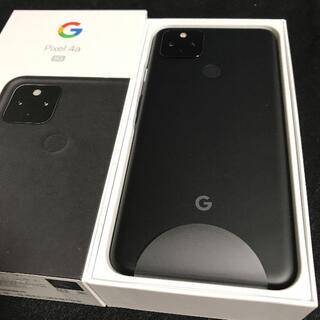 Google Pixel - 【新品/未使用/SIMフリー】Google Pixel4a 5G★一括購入★③