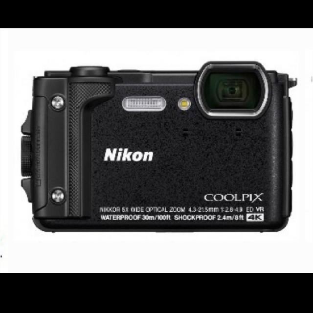 Nikon(ニコン)のNikon COOLPIX W300 耐衝撃 防水30m スマホ/家電/カメラのカメラ(コンパクトデジタルカメラ)の商品写真
