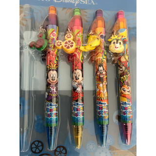 Disney - ディズニーリゾート ボールペン ディズニーシー チップ ミッキー ミニー サマー