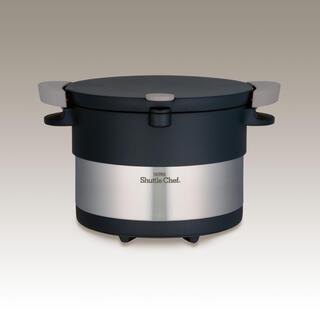 サーモス(THERMOS)のサーモス 真空保温調理器 シャトルシェフ 3.0L ステンレスブラック(鍋/フライパン)
