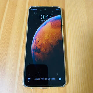 ANDROID - redmi note 9s 4G/64GB グローバル版 青 訳あり