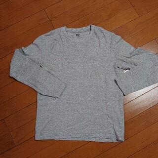 ユニクロ(UNIQLO)のUNIQLO ユニクロ メンズ シャツ(Tシャツ/カットソー(七分/長袖))