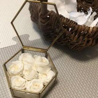 リングピロー 結婚式 ウエディング(リングピロー)