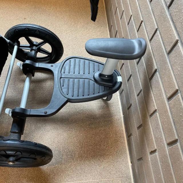 AIRBUGGY(エアバギー)のBugaboo バガブー セット ステップ付 キッズ/ベビー/マタニティの外出/移動用品(ベビーカー/バギー)の商品写真
