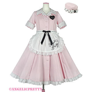 Angelic Pretty - MilkshakeサーキュラーワンピースSet