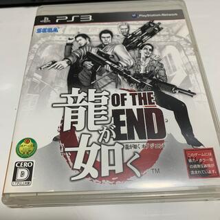 プレイステーション3(PlayStation3)の龍が如く OF THE END(オブ ジ エンド) PS3(家庭用ゲームソフト)