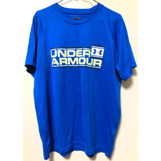 UNDER ARMOUR - アンダーアーマー Tシャツ ブルー UNDER ARMOUR
