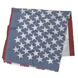 ディスカバード(DISCOVERED)のDISCOVERED 星条旗柄 大判ストール メンズ(ストール)