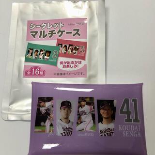 福岡ソフトバンクホークス - 福岡 ソフトバンクホークス シークレットマルチケース タカガール 千賀選手