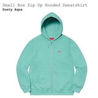 Supreme - Supreme Small Box Zip Up Sweatshirt 水色 S