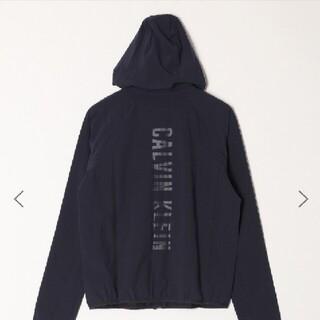 Calvin Klein - 【カルバン・クライン】CALVIN KLEIN ナイロンパーカー ネイビー S