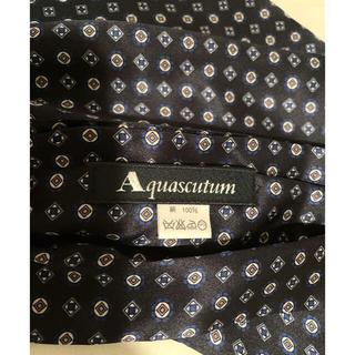 アクアスキュータム(AQUA SCUTUM)のアクアスキュータム シルク アスコットタイ(ネクタイ)