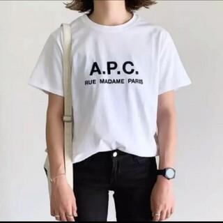 ✳rooty様専用✳APC半袖ロゴシャツ  L(Tシャツ(半袖/袖なし))