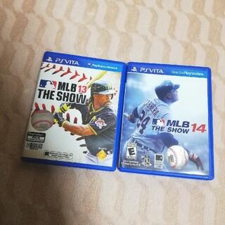 プレイステーションヴィータ(PlayStation Vita)のMLB THE SHOW ザショウ メジャー 13 14 野球 vita ゲーム(携帯用ゲームソフト)
