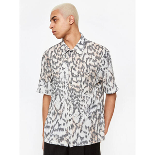 WACKO MARIA - our legacy tiger shirt 48 size