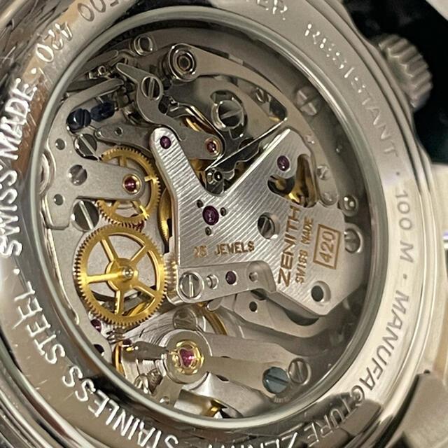 ZENITH(ゼニス)のゼニス エルプリメロ HW メンズの時計(腕時計(アナログ))の商品写真