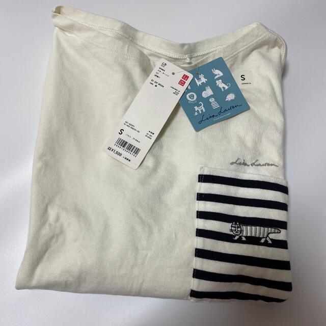 Lisa Larson(リサラーソン)のユニクロ リサ ラーソン ロンT 新品未使用 レディースのトップス(Tシャツ(長袖/七分))の商品写真