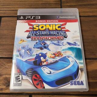 プレイステーション3(PlayStation3)のPS3_Sonic & All-Stars Racing Transformed(家庭用ゲームソフト)