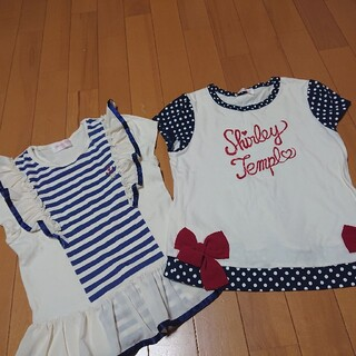 Shirley Temple - シャーリーテンプル マリンシャツセット サイズ140
