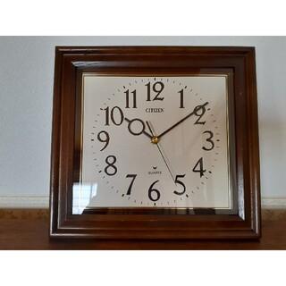 シチズン(CITIZEN)のシチズン 掛け時計 昭和レトロ アンティーク ミッドセンチュリー(掛時計/柱時計)