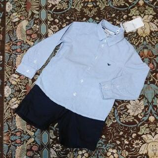 エンポリオアルマーニ(Emporio Armani)のEMPORIO ARMANIアルマーニ♡美品 ドットシャツ36M♡バーバリー(ブラウス)