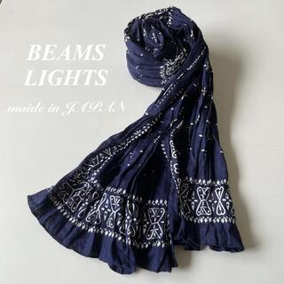 ビームス(BEAMS)のBEAMSLIGHTS ビームス ライツ バンダナ柄 コットン ストール(ストール)