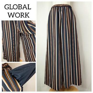 GLOBAL WORK - GLOBAL WORK ワイドパンツ イージーパンツ グローバルワーク