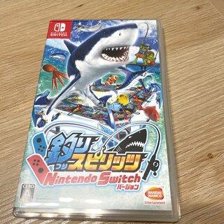 バンダイナムコエンターテインメント(BANDAI NAMCO Entertainment)のmarimo様専用 釣りスピリッツ Nintendo Switchバージョン (家庭用ゲームソフト)