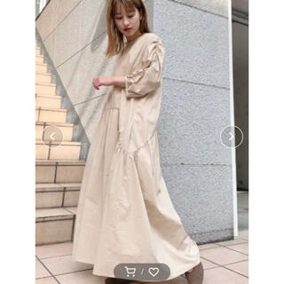 Kastane - 新品 kastane カスタネ 袖シャーリングタイプライターワンピース