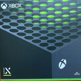 エックスボックス(Xbox)のXbox Series X 本体 新品(家庭用ゲーム機本体)