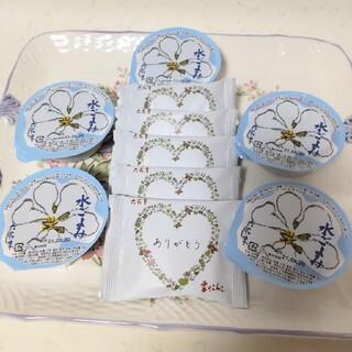 六花亭 水ごよみ5個 雪やこんこ5枚(菓子/デザート)