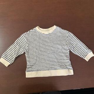 韓国子供服 ボーダー 綿 トップス 80サイズ