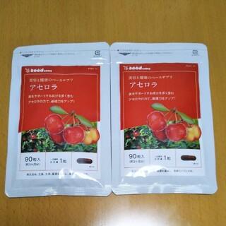 サプリメント 美と健康のベースサプリ アセロラ1袋90粒入✖2袋で約6ヵ月分新品(ダイエット食品)