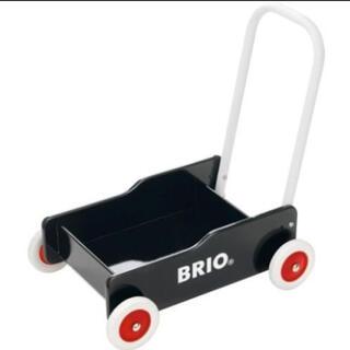 ブリオ(BRIO)の手押し車 ブリオ(Brio) カタカタ 黒(手押し車/カタカタ)