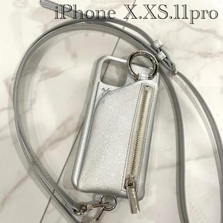 ビューティアンドユースユナイテッドアローズ(BEAUTY&YOUTH UNITED ARROWS)のajew エジュー 携帯ケース iphone 11pro/X/Xs (iPhoneケース)