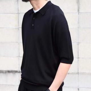 コモリ(COMOLI)のHERILL - 20SS Silk Knit Polo(ポロシャツ)