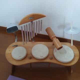 Rhythm ポコ ドラムセット 知育玩具 木製 木のおもちゃ POCO(楽器のおもちゃ)