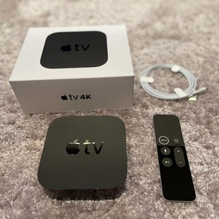 アップル(Apple)の【美品】Apple TV 4K HDR 32GB MQD22J/A A1842(テレビ)