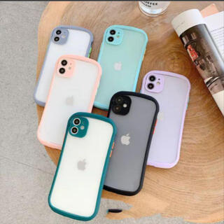 iPhoneケース スマホケース iPhone12 ブラック 韓国
