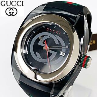 グッチ(Gucci)の【再入荷 1点限り】定価5.8万 GUCCIグッチ 男性メンズ 腕時計 新品(腕時計(アナログ))