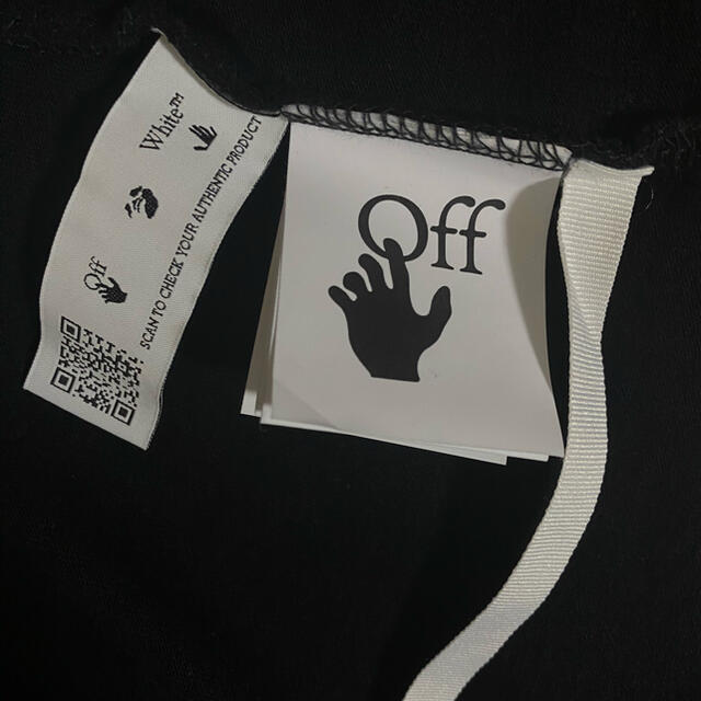 OFF-WHITE(オフホワイト)の美品!off-white オフホワイト 新作 ロンT 長袖 Lサイズ メンズのトップス(Tシャツ/カットソー(七分/長袖))の商品写真