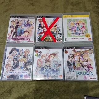プレイステーション3(PlayStation3)のテイルズ ps3 セット(家庭用ゲームソフト)