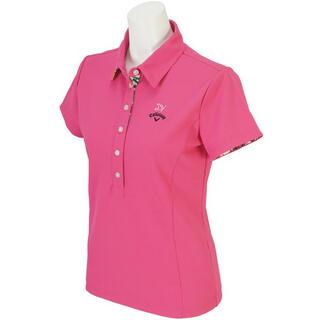 キャロウェイゴルフ(Callaway Golf)のCallaway Golf 鹿の子 半袖シャツ レディス(ウエア)