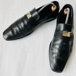 グッチ(Gucci)のGUCCI グッチ 黒 ローファー 24.5cm 除菌・消臭済み(ドレス/ビジネス)